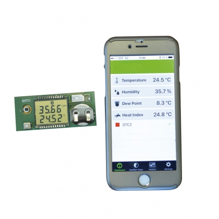 Thermomètre de calibration