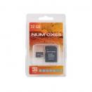 Carte MicroSD 32 Go Num'axes® avec adaptateur SD
