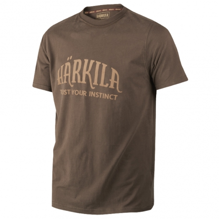 T-shirt Harkila marron S