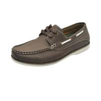 Chaussure bateau marron