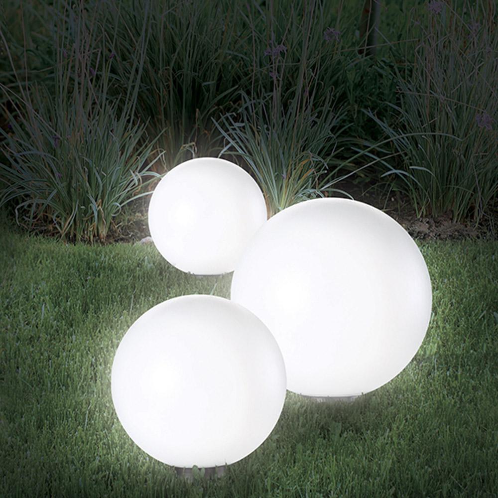ducatillon lampes boule solaire diam tre 15 cm x 2 jardin. Black Bedroom Furniture Sets. Home Design Ideas