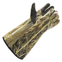 Gants longs d'attelage néoprène camouflage