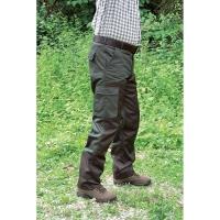 Pantalon de chasse Roncier kaki/marron