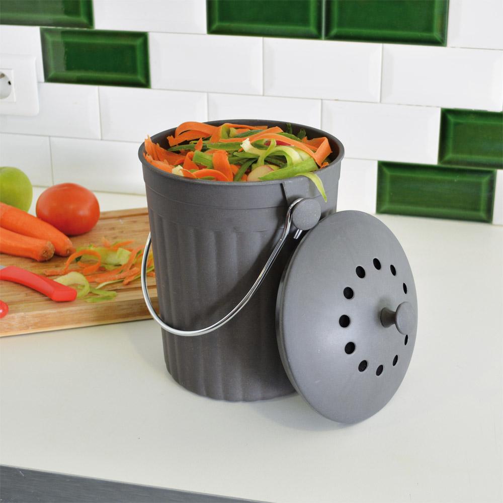 Ducatillon seau compost avec filtre charbon cuisine for Seau compost cuisine