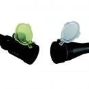 Paire de Bonnettes pour protection d'optique