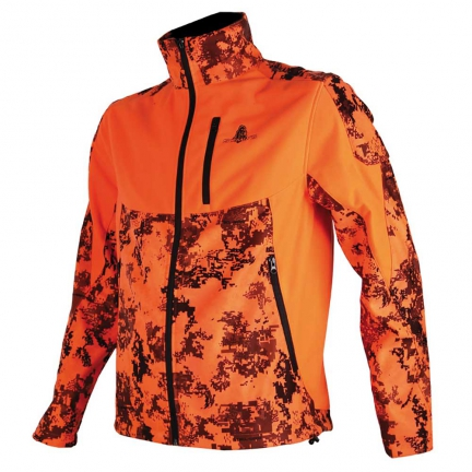 Veste softshell Somlys  Silentek orange S