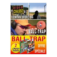 Lot de 2 DVD : Ball-Trap