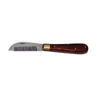 Couteau coupe-crinière pliant