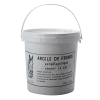 VISCOSITOL Argile de France-Pot 1,5 kg