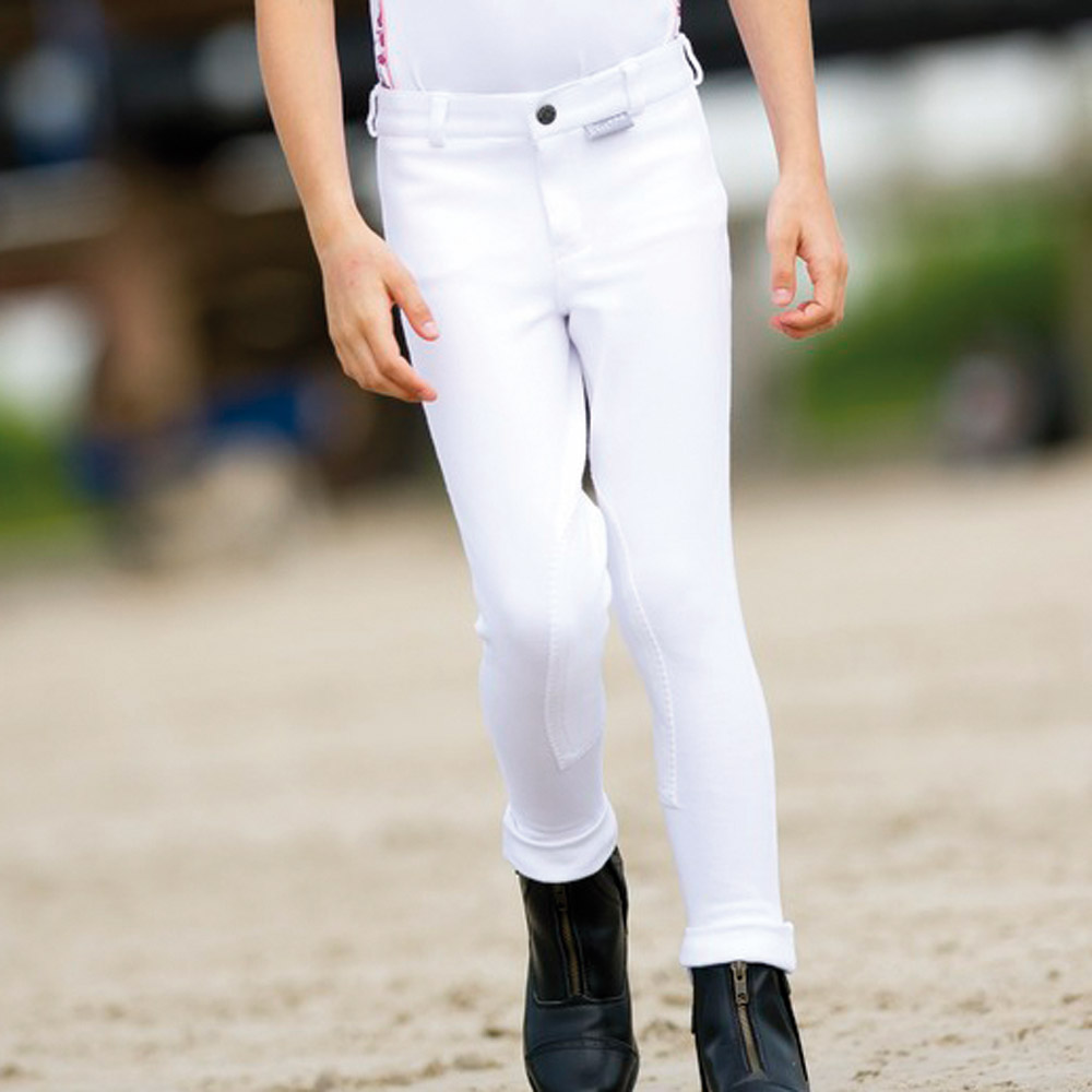 ducatillon pantalon quitation enfant blanc cheval. Black Bedroom Furniture Sets. Home Design Ideas
