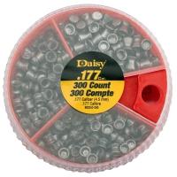 Boîte distributrice de plombs 3 compartiments Daisy® + 300 diabolos 4.5 mm