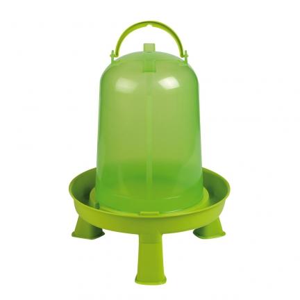 Abreuvoir vert sur pied 5 litres