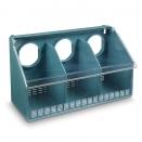 Mangeoire de cage 3 compartiments