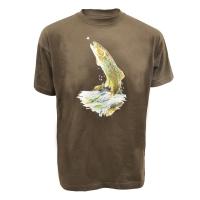 Tee shirt truite Fario