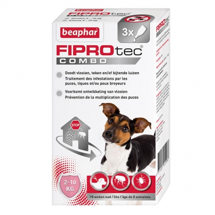 Fiprotec Combo,3 pipettes (petit chien)