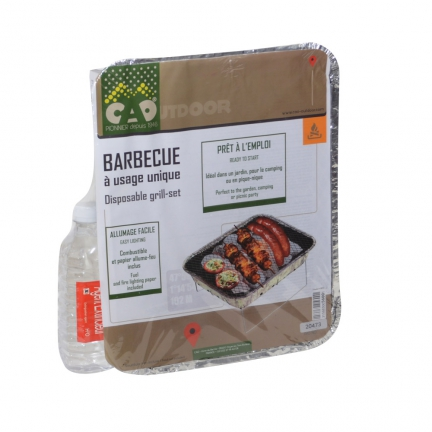 Barbecue à usage unique