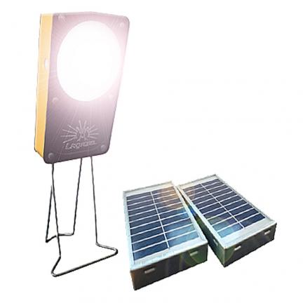 Lampe solaire et chargeur de portable