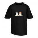 Tee-Shirt Enfant noir Bartavel® Setters