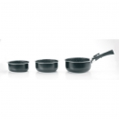 Casseroles Manche Amovible Equipa (Lot de 3)