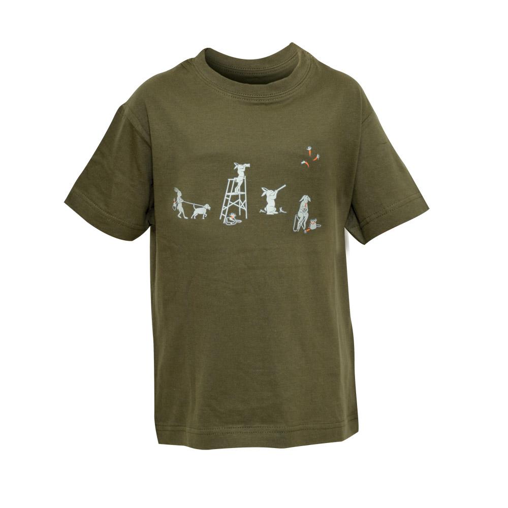 0a6efb70e4036 Tee-shirt Enfant Kaki