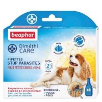 Pipettes stop-parasites Diméthicaire