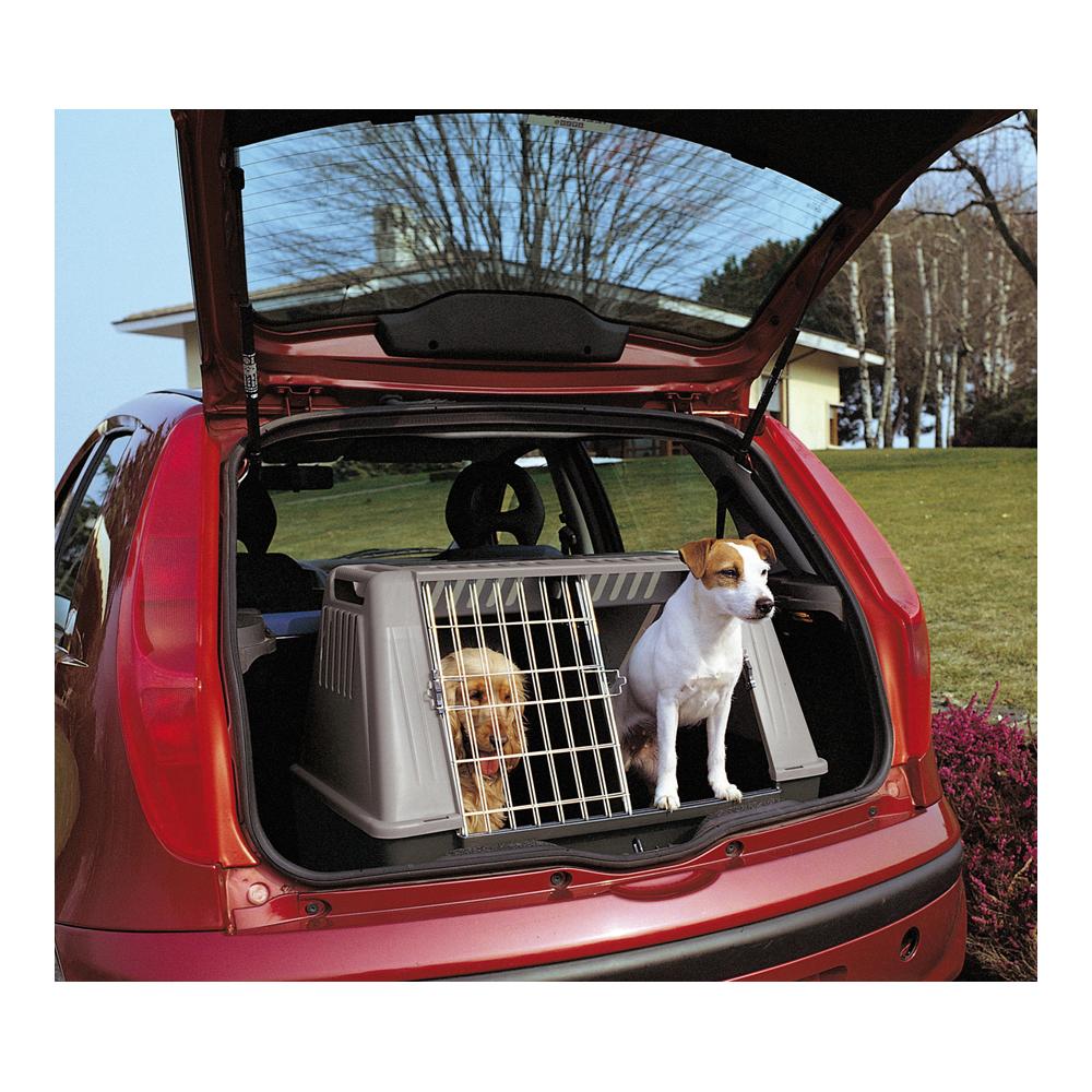 caisse de transport double atlas car chiens ducatillon. Black Bedroom Furniture Sets. Home Design Ideas