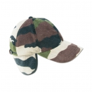 Casquette polaire camouflage