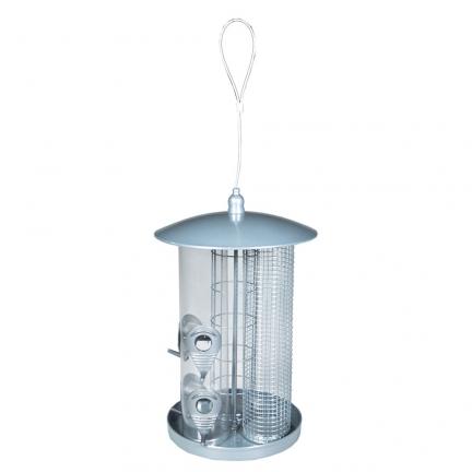 Mangeoire oiseaux 3 en 1 36,5cm