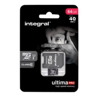 Integral Europe Carte mémoire MicroSDXC 64Go