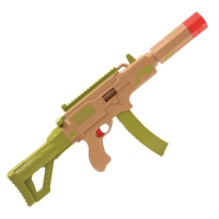 Fusil à papier mâché