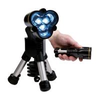 Torche LED tripod