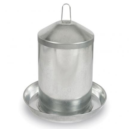 Abreuvoir siphoïde acier galvanisé 13 litres
