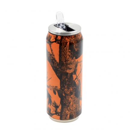 Canette Isotherme camo orange 500ml