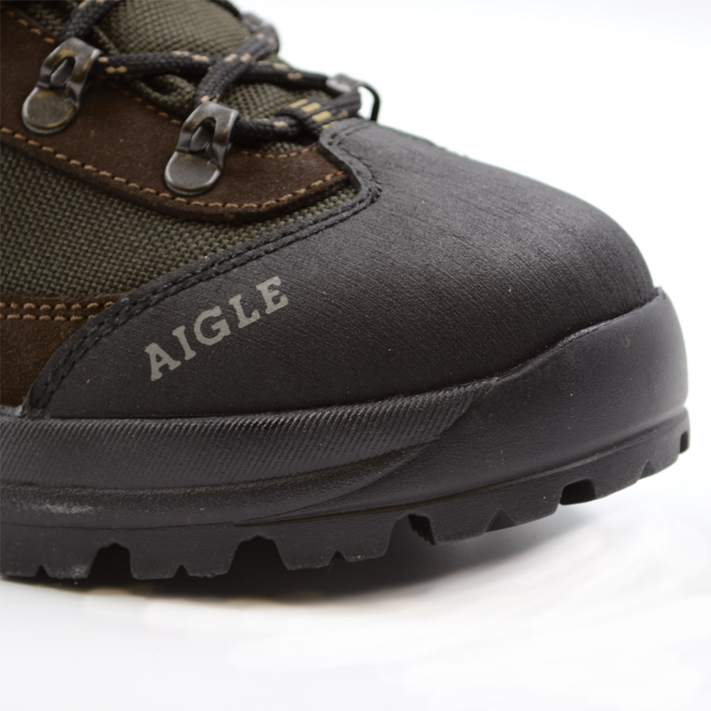 Chaussures Aigle imperméables marron T43