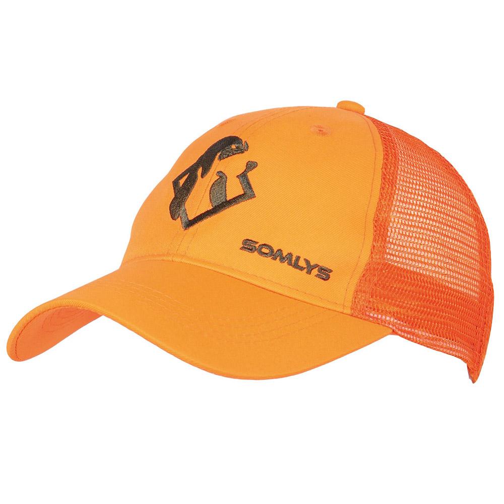 haute qualité modèles à la mode grand choix de Casquette maille orange