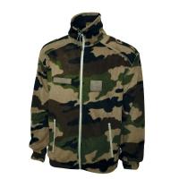 Blouson polaire commando camouflage + gants