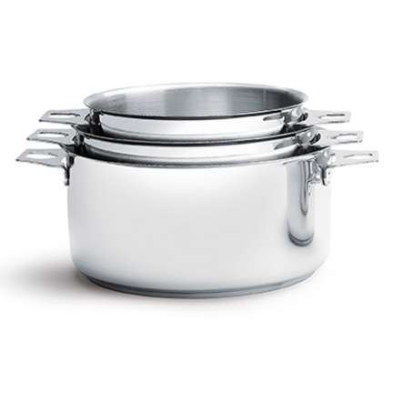 4 casseroles twisty 14-16-18-20 cm + 1 q