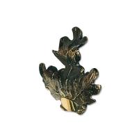 Feuille de chêne bronze