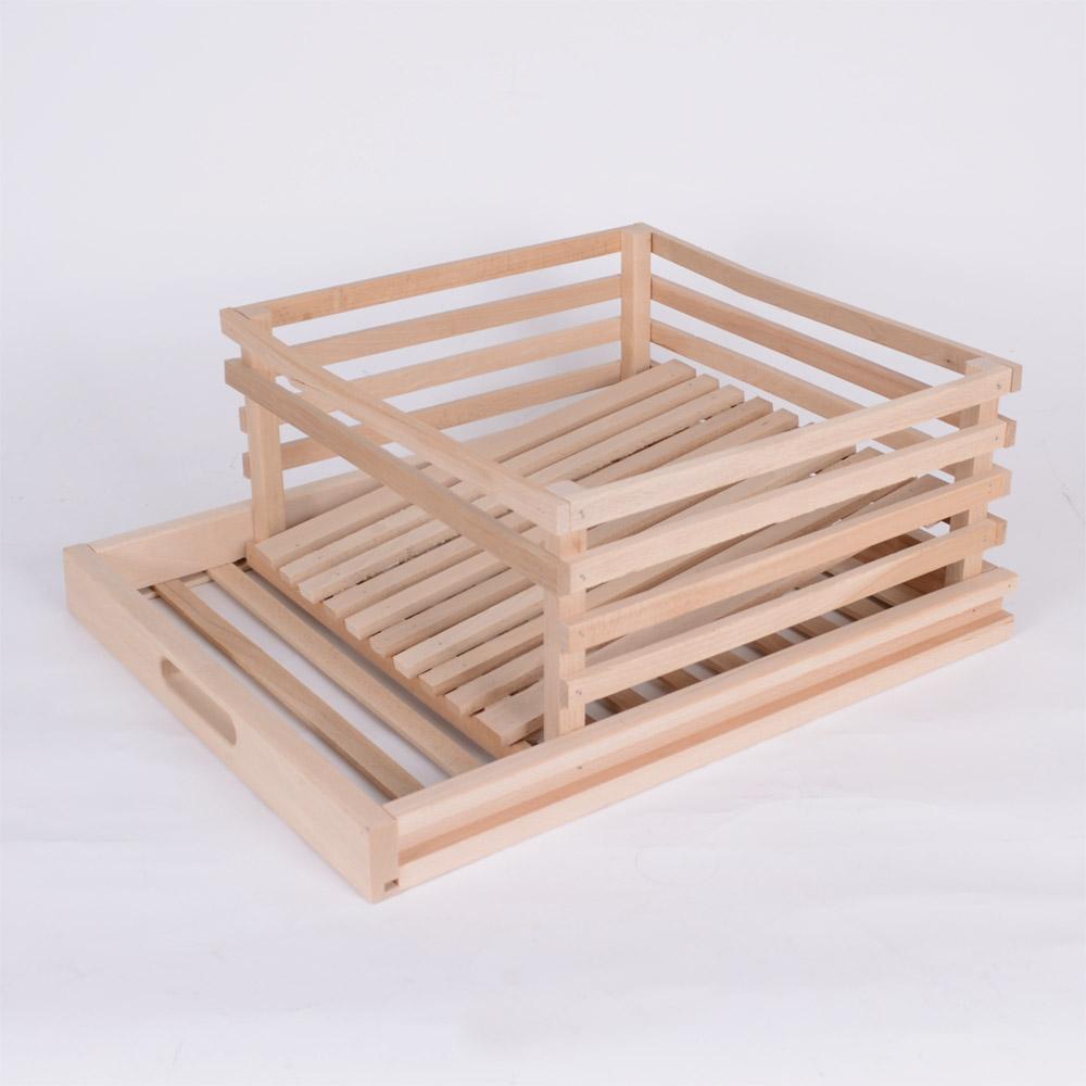 Tiroir à pomme de terre pour garde manger en bois - Achat / Vente de matériel de conservation