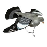 Pigeon ailes ouvertes polyétylène
