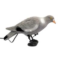 Appelant pigeon qui picore électrique