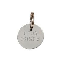 Médaille à graver en métal