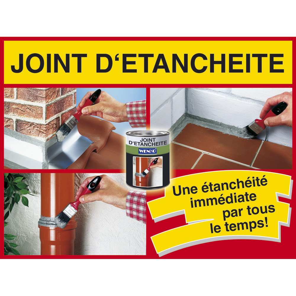 Ducatillon joint d 39 tanch it 375ml jardin - Joint d etancheite concave ...
