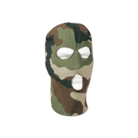 Cagoule polaire camouflage