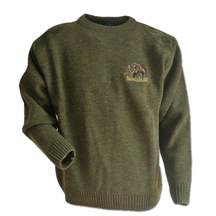Pull col rond enfant Taille 6 ans